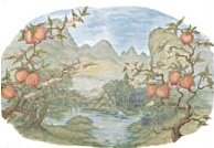 Instant Expressions Asian Harmony wall Mural LW35015