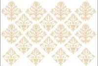 Instant Expressions DAMASK MEDALLIONS Mural LW35016