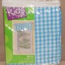the kids room btsy soft blue valance 60x14