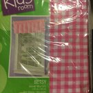 the kids room betsy pink valance 60x15 polyester