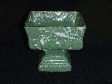 Green Pedestal Planter
