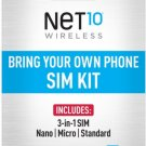 AT&T Net10 Bring Your Own Phone SIM Kit -  GSM Compatible