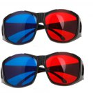 2X New Red Blue 3D Glasses