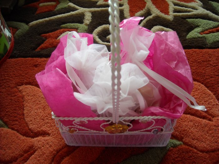 SMALL SOAP BASKET