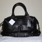 NWT Coach Sabrina Madison 12937 Handbag Black Leather