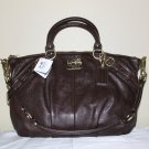 NWT COACH Madison Leather Sophia Satchel Bag 15960 Mahogany