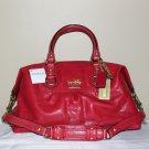 NWT Coach Sabrina Madison 12937 Handbag Cherry Leather