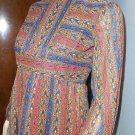 Vintage 60s Boho Gown