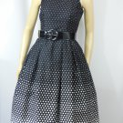 Vintage 80s Polka Dot Sundress Small
