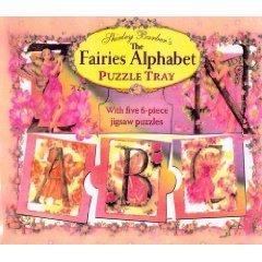 THE FAIRIES ALPHABET PUZZLE TRAY