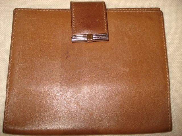 CHRISTIAN DIOR BUSINESS LEATHER CARD HOLDER #09-0099