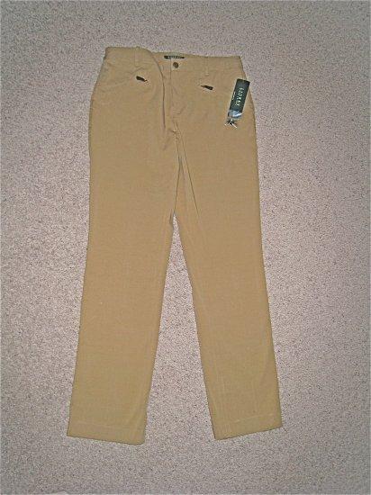 NWT Ralph Lauren Khaki Pants 6 $89 FREE SHIPPING