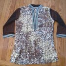 NEW XL Brown Tiger Tunic Top  FREE SHIPPING