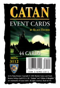 Settlers of Catan  - Event Cards Expansion