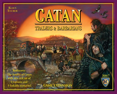 Settlers of Catan - Traders & Barbarians Expansion