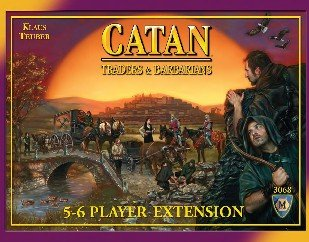 Settlers of Catan - Traders & Barbarians 5-6 player extension