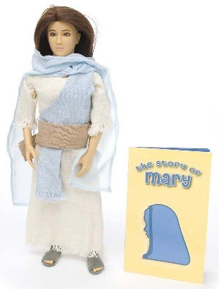 Messengers of Faith - Mary  Talking Doll