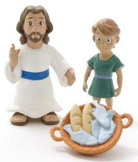 Jesus Feeds the Five Thousand Playset