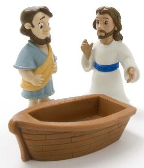 Jesus Walks On Water Playset