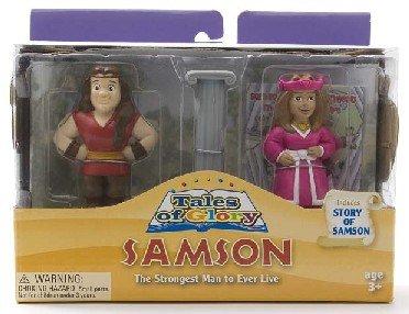 Samson and Delilah Playset