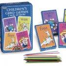 Children's Retro Card Games Tin