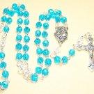 FR001-S  Aqua Rosary