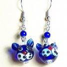 LPG005-BE Cat Earrings