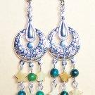 FD002-CE Fancy Drop Earrings