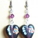 LPG037-HEART Heart Earrings