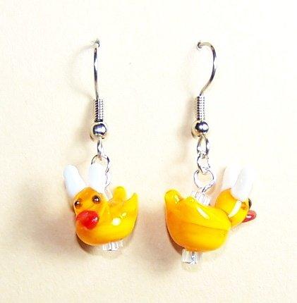 LPG048-BE Duck with Rabbit Ears