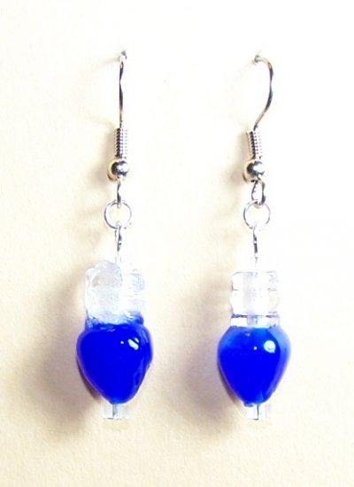 LPG019-XMAS Christmas Light Earrings