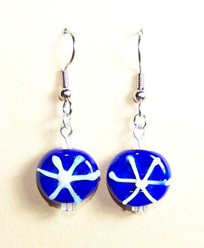 LPG037-XMAS Snowflake Earrings