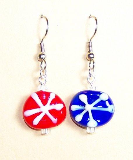 LPG038-XMAS Snowflake Earrings