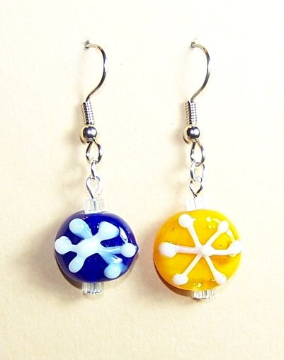 LPG039-XMAS Snowflake Earrings