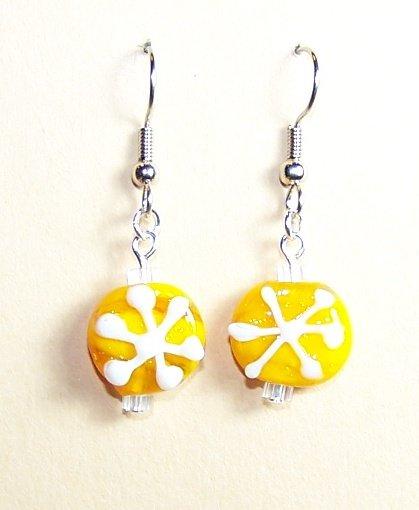 LPG042-XMAS Snowflake Earrings