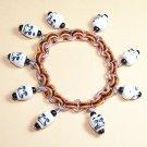 AR-CH005-SK-M Medium Skull Bracelet