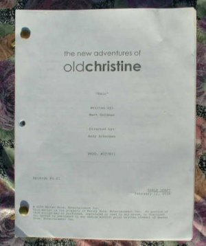 New Adventures Of Old Christine Script Aired April 8 2009 NEW
