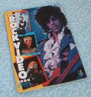 ROCK VIDEO BOOK 70's - 80's Paulette Weiss SC