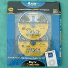 French Language 2 CDs Sync French Complete - New Condition