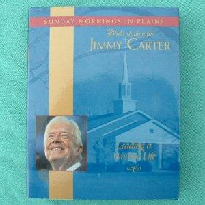 JIMMY CARTER Audio Book Sunday Mornings Bible Study 4 CDs