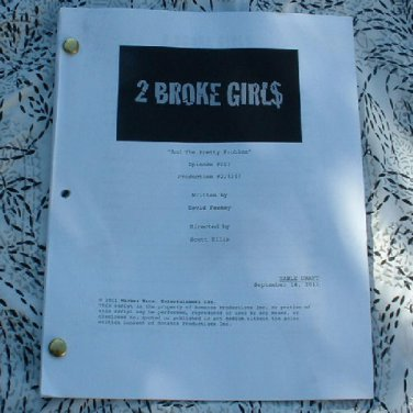 2 BROKE GIRLS Script Aired October 31, 2011 - NEW
