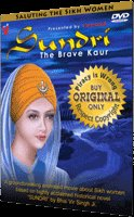 Sikh Movie - Sundri - The Brave Kaur (DVD)