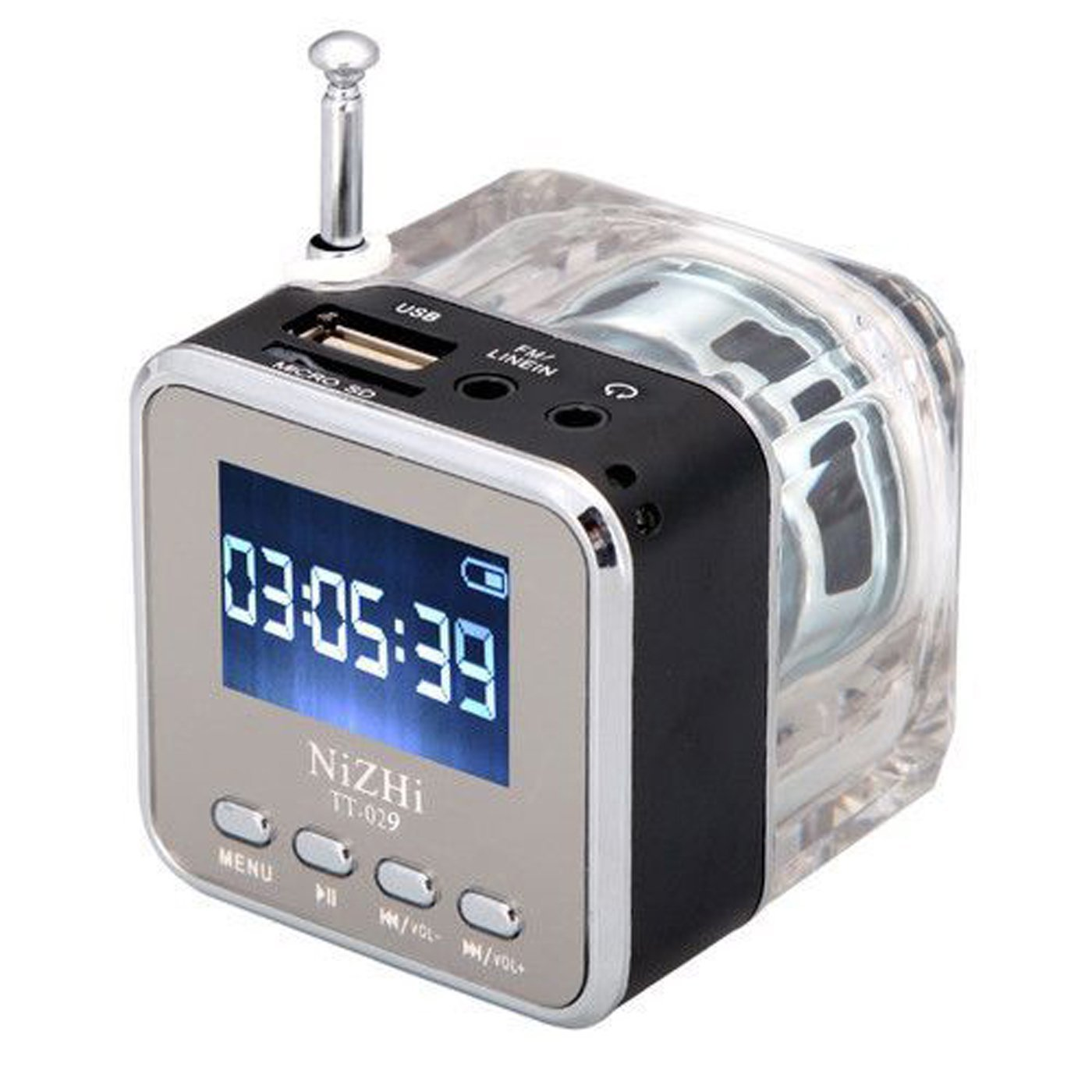 Digital Portable Mini Speaker Player with pre-filled memory card (Sehaj Paath)