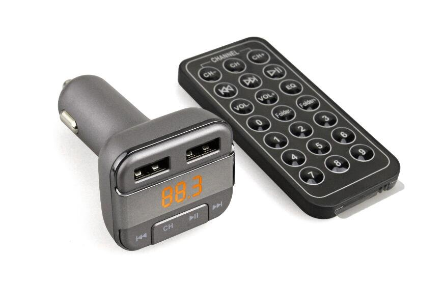 Gurbani FM Transmitter - 400 Hours of Gurbani pre-loaded for your car