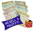 24 x Themed Scrapbook Kits