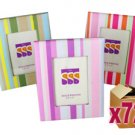 72 x Funky Assorted Paper Photo Frames