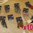 100 x Assorted Fashion Earrings