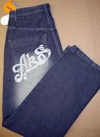 12 Mens Akademiks Designer Black Jeans