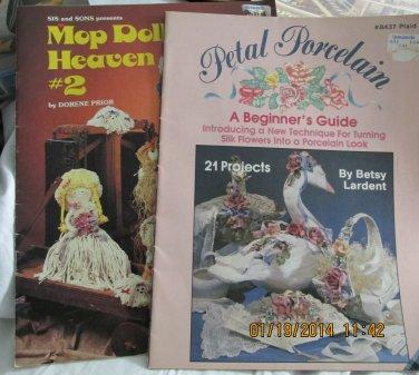 Petal Porcelain and Mop Doll Heaven Craft Leaflets