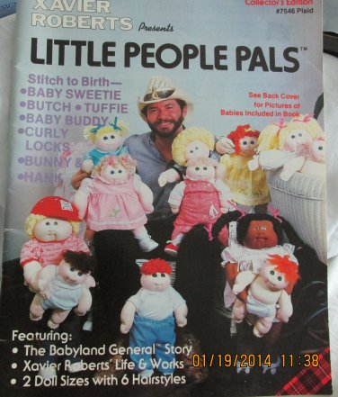 1982 Xavier Roberts Little people pals collectors edition